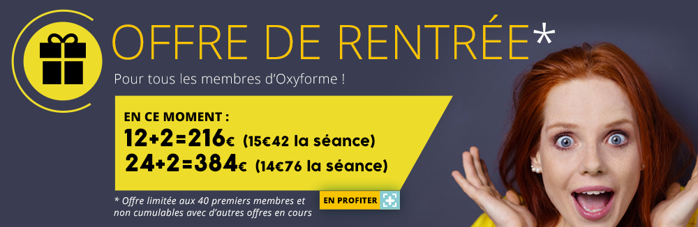 OFFRE DE RENTREE 12+2 = 216